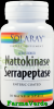 Nattokinase serrapeptase 30 capsule vegetale solaray secom
