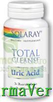 Total Cleanse Uric Acid 60 capsule Secom Solaray