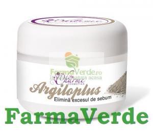 Argiloplus elimina excesul de sebum 50 ml Charme Cosmetics