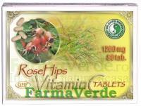 Vitamina C cu Macese 1200 mg 80 pastile Mixt Com Dr Chen