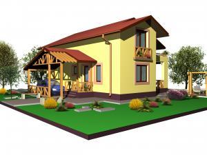 Proiect gratuit casa CRISTIANA