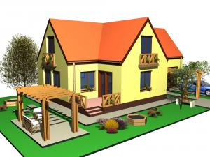 Proiect gratuit casa LAURA