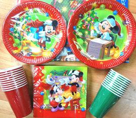 !!! Set de petrecere MICKEY MOUSE CHRISTMAS