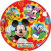 10 farfurii 20cm MICKEY MOUSE CLUBHOUSE
