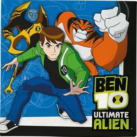 20 Servetele 33x33cm BEN TEN Ultimate Alien
