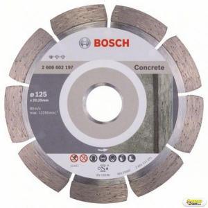 Disc debitare beton Bosch Standard, 125 mm, prindere 22.23 mm Bosch