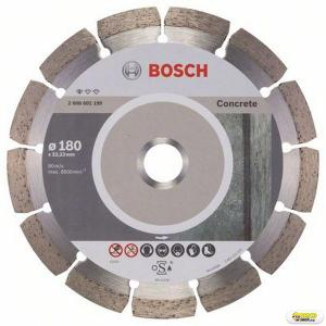 Disc flex debitare beton Bosch Standard, 180 mm, prindere 22.23 mm Bosch