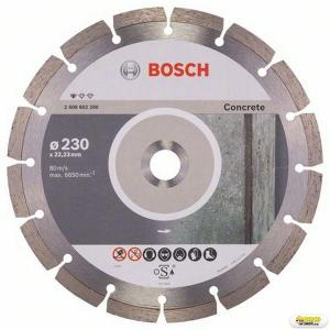 Disc taiere beton Bosch Standard, 230 mm, prindere 22.23 mm Bosch
