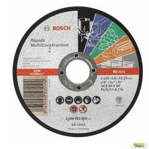 Disc taiere Bosch MultiConstruct 125x1.6 mm Bosch