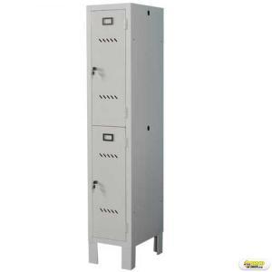Dulap vestiar Preti Compact Clasic Suprapus 1+1 usi 350x330x1800