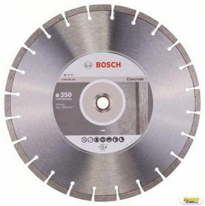 Disc diamantat debitare beton Bosch Standard, 350 mm, prindere 20/25.4 mm Bosch