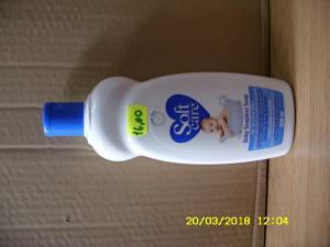 Lotiune de baie fara sapun pentru bebelusi albastra