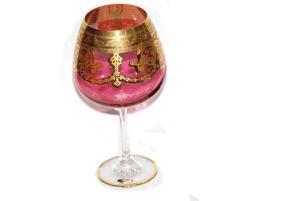 Set pahare cristal cogniac