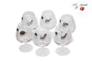 Set 6pahare cristal bohemia