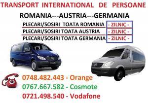 Oferta transport germania persoane