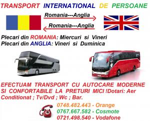 Firme transport anglia romania