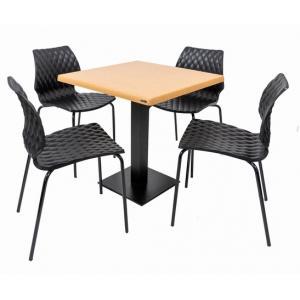 Set terasa outdoor masa DUBLIN OAK cu scaune UNI 550