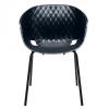 Lichidare stoc - scaune plastic terasa outdoor cadru