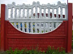 Gard din panouri