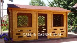 Pavilioane si foisore din lemn
