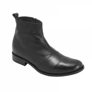 Ghete Integral din Piele Sagra Shoes Bradford - Negru