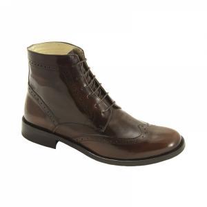 Ghete Integral din Piele Sagra Shoes Leeds