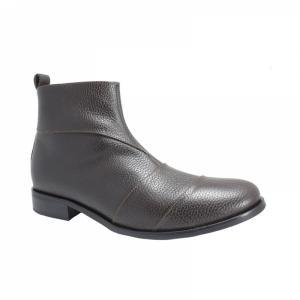 Ghete Integral din Piele Sagra Shoes Bradford - Maro
