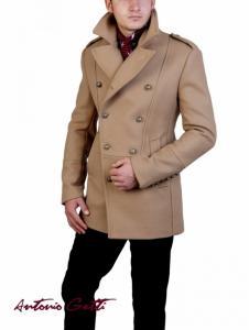 Palton Barbatesc Antonio Gatti B102 Bej