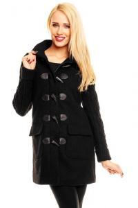 Palton Urban Surface Wool Black