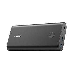 Baterie externa Anker PowerCore+ 26800 PD, USB-C cu Power Delivery, Aluminiu