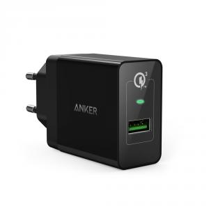 Incarcator priza USB Anker PowerPort+ 1, Quick Charge 3.0