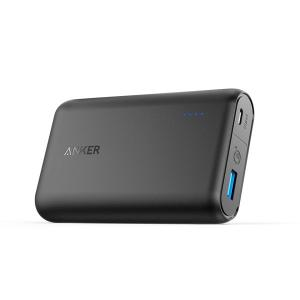 Baterie externa ultra compacta Anker PowerCore Speed 10000 mAh, Quick Charge 3.0, Negru