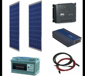 Energie solara cu panouri fotovoltaice.