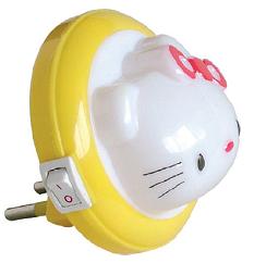 LAMPA DE VEGHE LED MODEL VT-803L PISICA ROSU