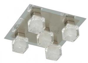 "PLAFONIERA 5 BECURI MODEL ""ICE"""