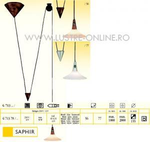 LUSTRA SAPHIR 1 BEC