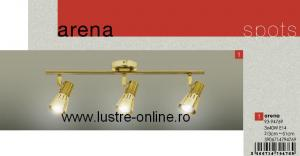 "LUSTRA 3 BRATE MODEL "" ARENA "" AURIU PATINAT"