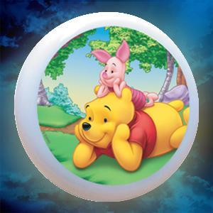 "LAMPA DE VEGHE 220V "" Winnie The Pooh "" 1"