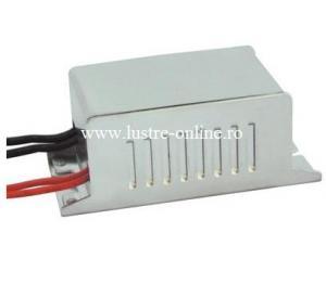 TRANSFORMATOR ELECTRONIC 220V - 12V 60W