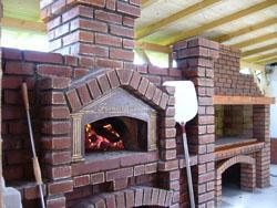 Cuptor paine pe vatra