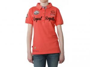 Tricou Polo GEOGRAPHICAL NORWAY - kassis lady ss assor a corail