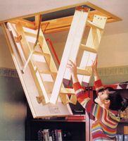 Scara modulara lemn