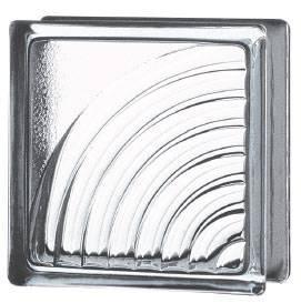 Caramida din sticla clara