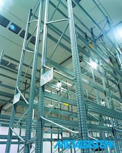 Sisteme depozitare rafturi metalice industriale
