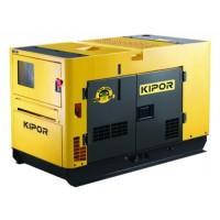 "Generator diesel insonorizat monofazat 13,0 kW 15000 rpm ""Ultra Silent"" KDE 16 SS KIPOR"