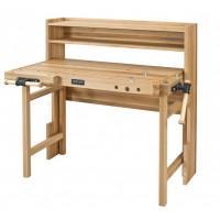 Banc de lucru pliabil din lemn 1250x750x1230 mm cu 2 menghine Foldable HB-S RAMIA