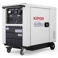 Generator digital insonorizat diesel 5,0 kVA cu kit de transport ID 6000 KIPOR