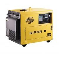 "Generator diesel insonorizat monofazat 4,5 kW 3000 rpm ""Super Silent"" KDE 6700 TA KIPOR"