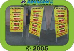 Afisaj schimb valutar