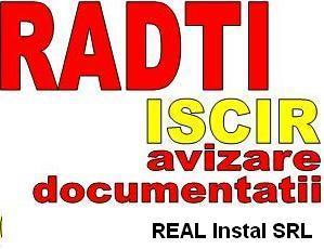 RADTI - avizare/ verificare/intocmire documentii in vederea instalarii a centalelor termice cf. ISCIR.